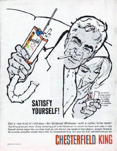 - 1961 Chesterfield Cigarettes Ad