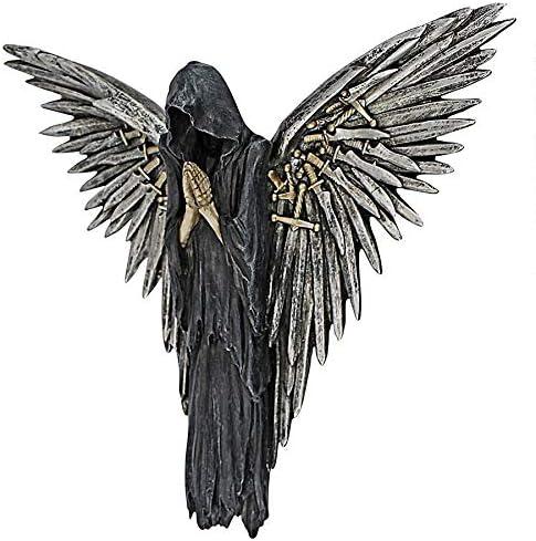 Design Toscano Soul of The Warrior Grim Reaper Wall Sculpture