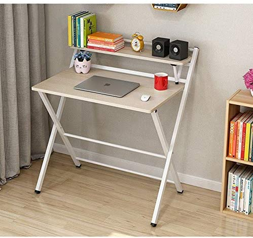 Portable Folding Computer Desk Table Without Installation