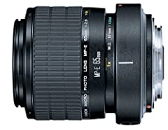 The Canon MP-E 65mm f/2.8 1-5x Manual Focus Macro Lens with Tripod Mount Ring is a unique manual-focus lens designed exclusively for macro shooting, between life-size (1x) and 5x life-size at its maximum magnification, you can fill a 35mm fra...