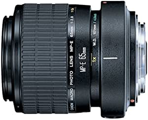Canon MP-E 65mm f/2.8 1-5X Macro Lens for Canon SLR Cameras