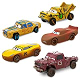 Disney Cars 3 Deluxe Die Cast Set Crazy 8 5-Piece
