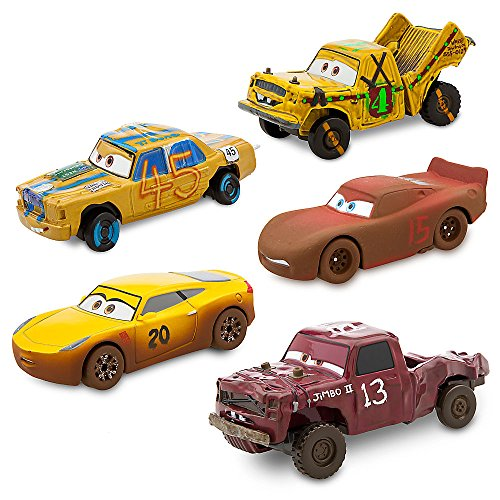 Disney/Pixar CARS 3 - Details & Downloadable Activity Sheets #Cars3 - Disney Cars 3 Deluxe Die Cast Set Crazy 8 5-Piece 461023232692