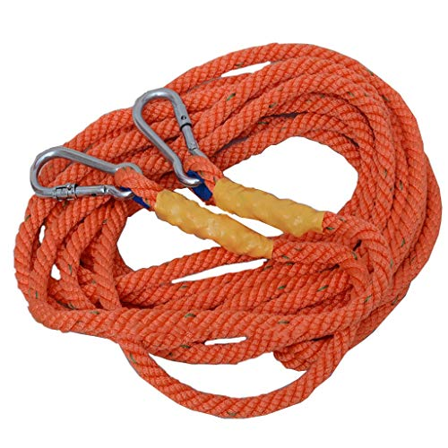 FLYSXP Long Rope Sling Rope Aerial Work Rope Extension Rope Escape Lifeline Diameter 16mm Climbing Rope (Size : 1m)