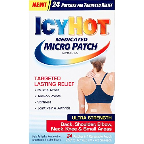 Icy Hot Medicated Micro Patch, 24 ea