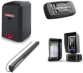 Included Liftmaster 828LM Internet Gateway! LiftMaster RSL12U Residential//Light Commercial Slide Gate Operator