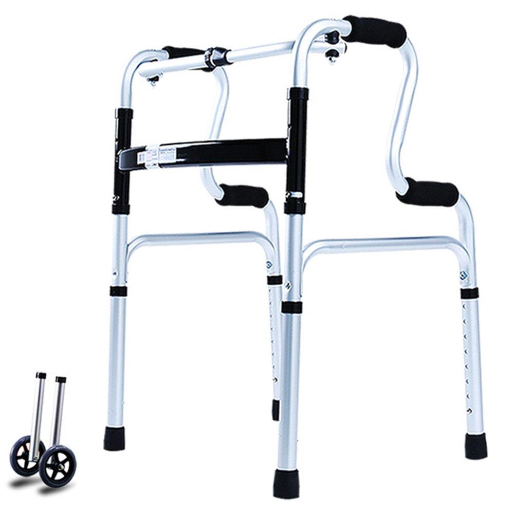 QFFL 松葉杖歩行不可能なハンドスツールベンチウォーキングエイズ6色をご利用いただけます 松葉杖ウォーカー ( 色 : D ) B07B2N8ZHT D D