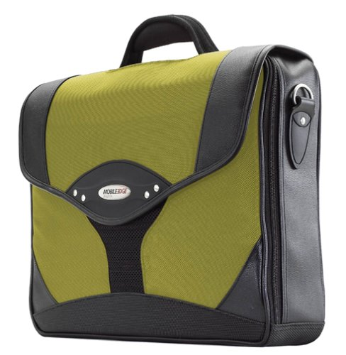 Briefcase Edge Notebook (Mobile Edge Yellow/Black Select Laptop Briefcase 15.6 Inch PC, 17 Inch Mac, SafetyCell Computer Protection Compartment, Gel-eGrip Comfort Handle, for Men, Women, Business, Students MEBCS4)