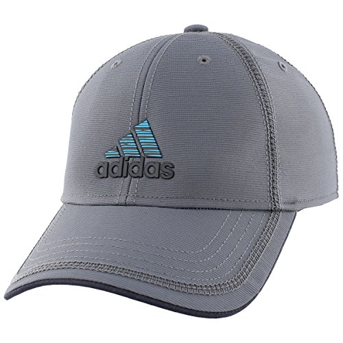 adidas Men's Contract II Structured Adjustable Cap, One Size, Onix/Lab Green/Night Grey - Green Adjustable Slouch Hat