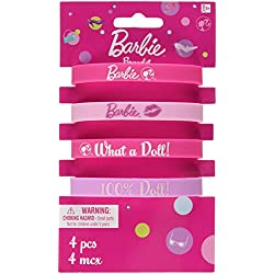 Amscan Rubber Bracelet Favors   Barbie Collection   Party Accessory