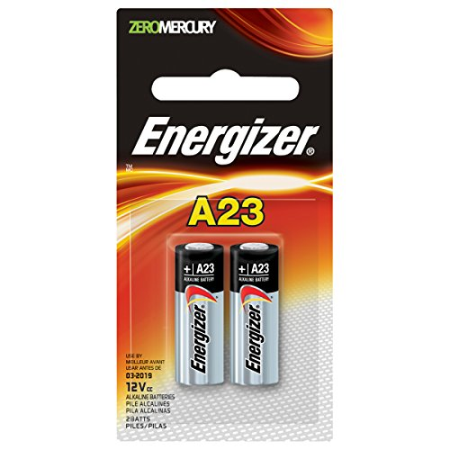 Battery 23a (Energizer Zero Mercury Alkaline Batteries A23 2 ea)