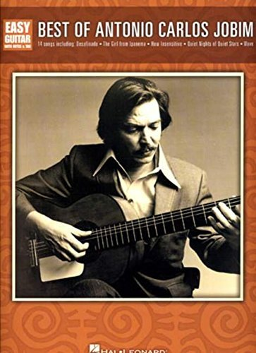 ([Best of Antonio Carlos Jobim (Easy Guitar with Notes and Tab)] [Author: x] [September, 2008])