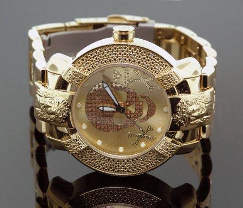 Aqua Master Mens Diamond Watch Hip Hop Jewelry 96-54 by Aqua Master