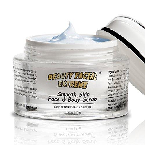 Meilleur Nouveau Visage & Body Scrub - puissant exfoliant microdermabrasion qui améliore considérablement tonus de la peau, la texture, les ridules, les taches de vieillesse, taches de soleil, et les rides diminuent année de peau endommagée. Réduire la dé