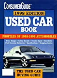 Used Car Book 1998, Consumer Guide Editors, 0451194381