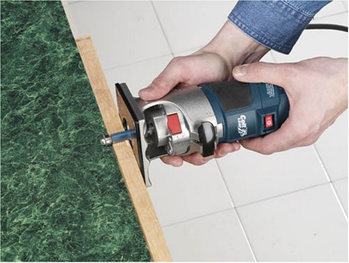 Bosch Colt Palm Grip PR20EVSK 5.6 Amp 1-Horsepower Fixed-Base Variable-Speed Router with Edge Guide by Bosch (Image #2)