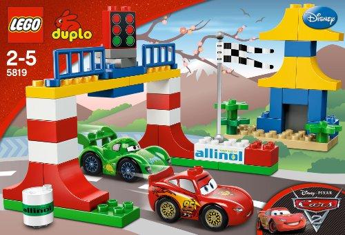 Amazon.com: LEGO Duplo Disney Pixar Cars 2 Tokyo Racing (5819 ...
