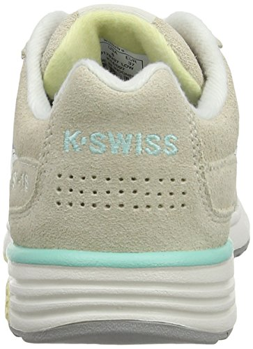 Women Sneakers White Top K M Si 2 Beige Beige 18 Trainer Swiss Low 7aWa8Yqz