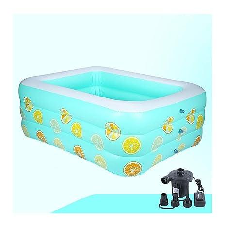 LYM & bañera Plegable Piscina Hogar Aislamiento ...