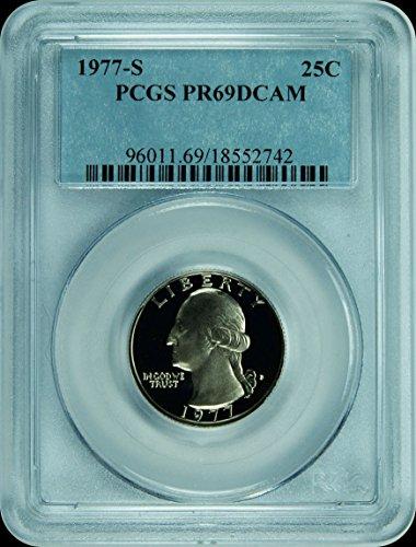 1977 Quarter Washington Quarter PR-69 PCGS DCAM