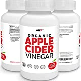 Organic Apple Cider Vinegar Pills – 100% Natural, Healthy, Pure & Raw – Weight Loss, Blood Sugar, Digestion & Detox Support – 30 Day Supply with 110% Money Back Guarantee For Sale