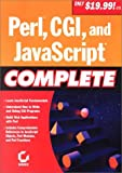 img - for Perl, Cgi, and Javascript Complete book / textbook / text book