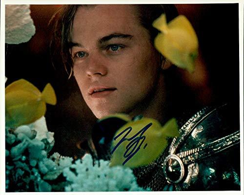 Leonardo DiCaprio (Romeo & Juliet) signed 8x10 photo
