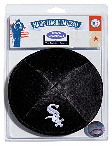 UPC 813300013119, MLB Chicago White Sox Men's Kippah, One Size, Black