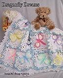 Dragonfly Dreams Baby Afghan or Blanket Crochet Pattern