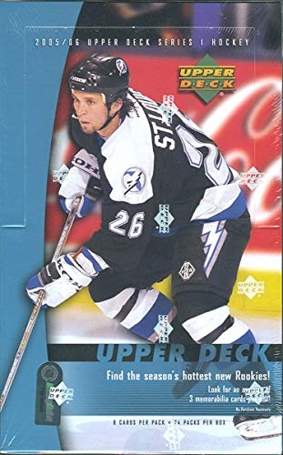 2005-06 Upper Deck Series 1 Hockey Hobby -