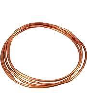 Tubo rame - Tubo di rame morbido da 2 m Ø 4 mm x ID 3 mm per impianto idraulico di refrigerazione