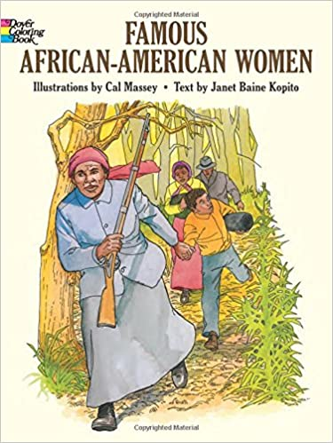 Famous African-American Women (Dover History Coloring Book): Janet ...