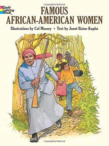 Search : Famous African-American Women (Dover History Coloring Book)