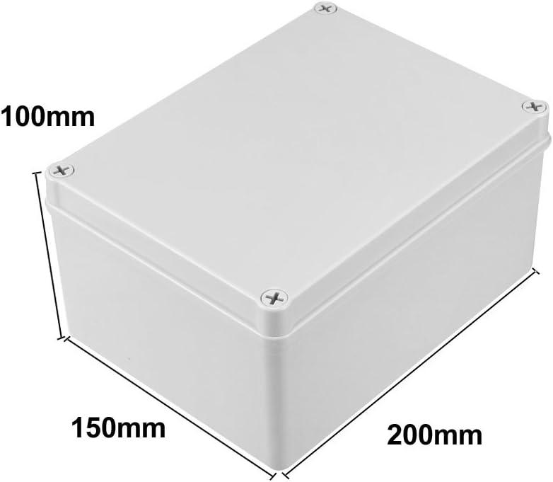 sourcing map Espesor de placa de circuito impreso de papel universal de una cara de 12x18 cm de grosor 1.3 mm para soldadura DIY 6 piezas marr/ón