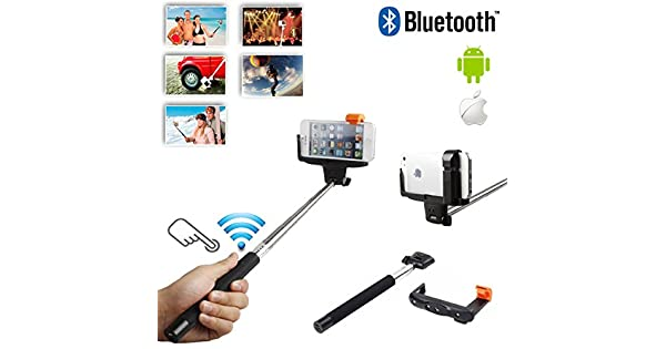 Amazon.com: Selfie Stick/Palo para Selfies extensible con ...