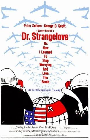 Amazon.com: Dr. Strangelove 27x40 Movie Poster (1964): Prints: Posters &  Prints