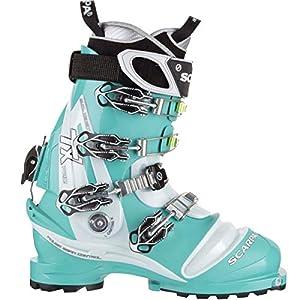 SCARPA TX Pro Telemark Boot – Women's Emerald/Ice Blue, 25.5