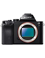 Sony a7 Digital E-Mount Camera with Full Frame Sensor, Body only (ILCE7B)