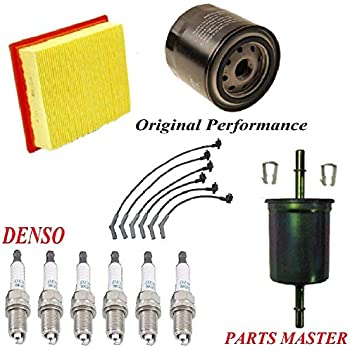 tune up kit air oil fuel filters wire spark. Black Bedroom Furniture Sets. Home Design Ideas