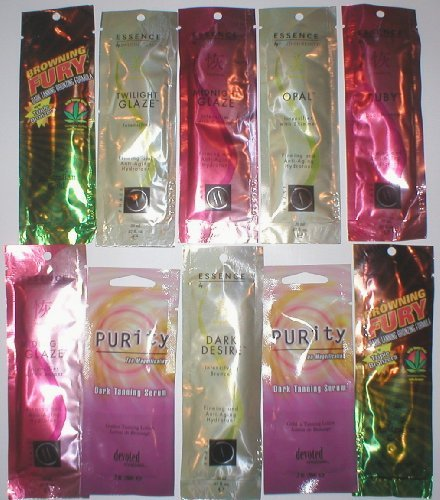 15 Top Brand Tanning Bronzers Lotions Ect Samples Australian