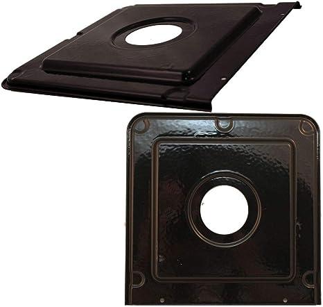 "Stove Range 9 1//4/"" Square Drip Pan Fits Frigidaire Tappan Kenmore # 316011418"