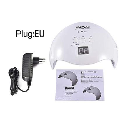 Timer Accensione Spegnimento Luci.Sensore Di Accensione Spegnimento Automatico Uv Per Unghie