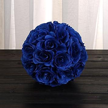 Kuulee Kunstblumen 18cm 7 Romantische Kunstliche Rose Bouquet Suss