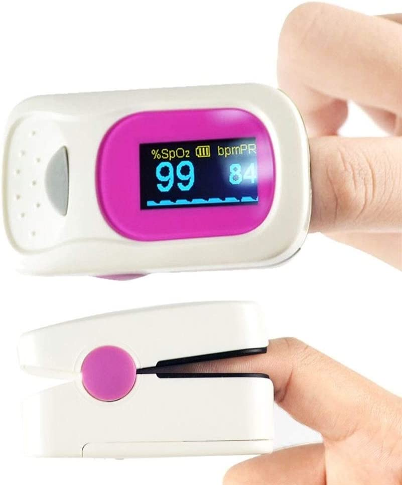 No Logo Oxímetro de Dedo oximetro de Pulso De Dedo pulsioximetro Tensiometro Digital OLED del oxímetro de Pulso SpO2 Médico Hogar portátil