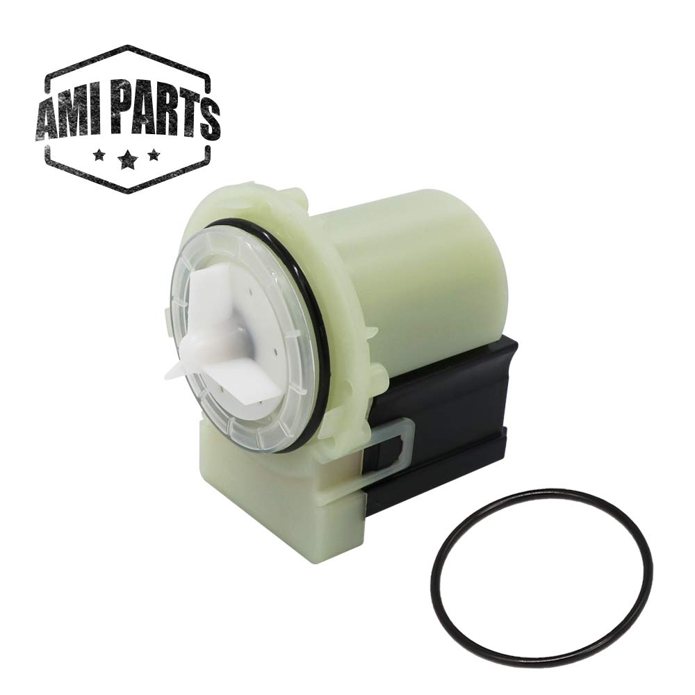 AMI PARTS 8181684 Water Drain Pump Motor Compatible with Maytag Whirlpool Washer Replacement 280187, 285998, 8181684, 8182819