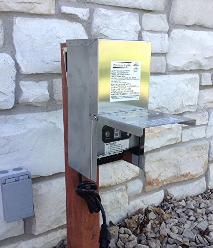 300 Watt WSS Stainless Steel Low Voltage Transformer Landscape Garden Lighting By Pinnacle by Pinnacle Lights (Image #1)