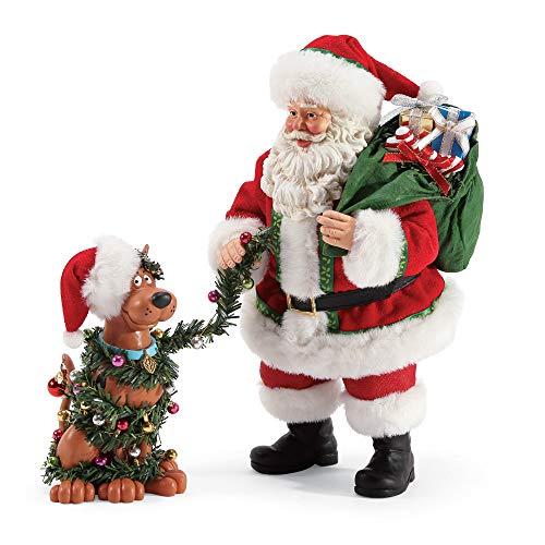 (Department 56 Possible Dreams Santas Ruh Roh Scooby Doo Figurine, 10.5
