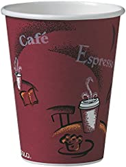 Solo 412SIN-0041 12 oz Bistro SSP Paper Hot Cup (Case of 1000)