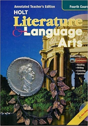 Holt Literature And Language Arts Grade 10 Annotated