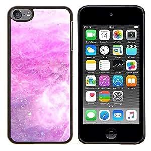 LECELL--Funda protectora / Cubierta / Piel For Apple iPod Touch 6 6th Touch6 -- Tormenta de nieve Estrellas blanca abstracta --